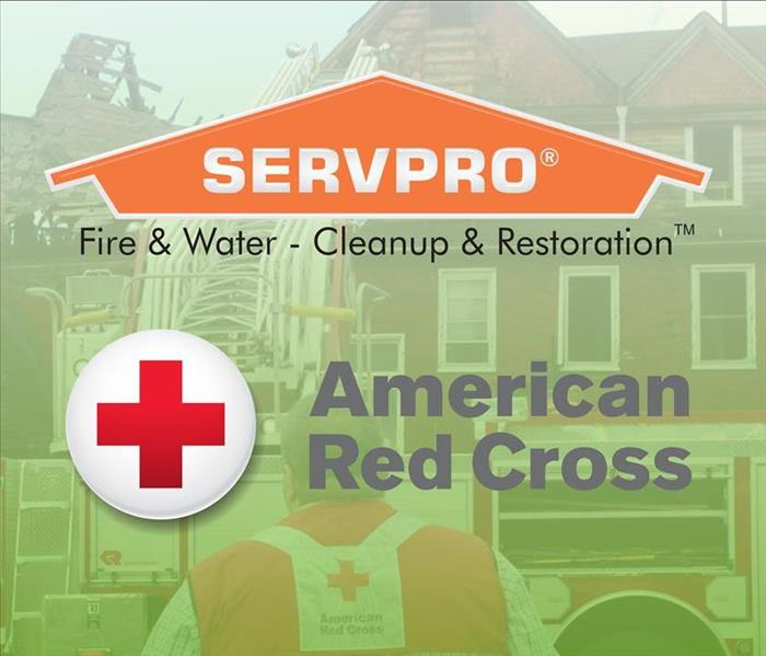SERVPRO and American Red Cross logos