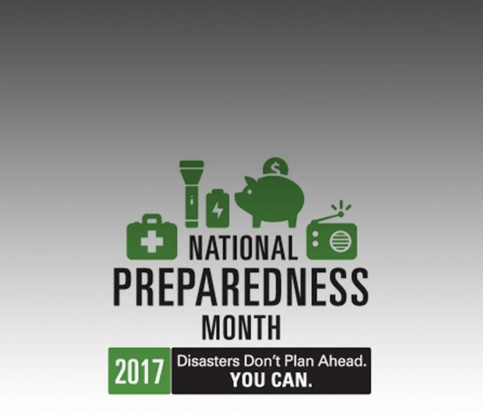Commercial September is National Preparedness Month: Be Ready for Whatever Happens with the SERVPRO ERP